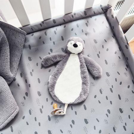 Jollein® Držalo za dudu Penguin Storm Grey