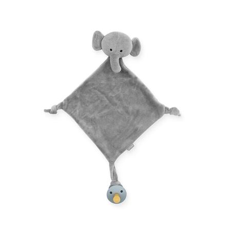 Slika za Jollein® Mazilica i držalo za dudicu Elephant Storm Grey