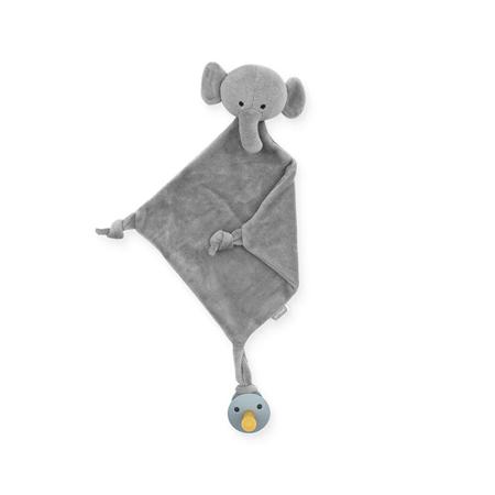 Jollein® Mazilica i držalo za dudicu Elephant Storm Grey