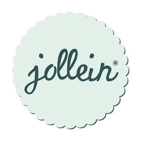 Slika za Jollein® Grizalo od 100% prirodne gume Falling Star Pale Pink