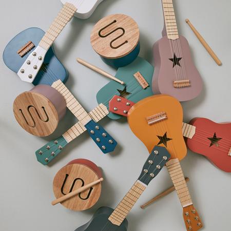 Kids Concept® Drvena gitara Red