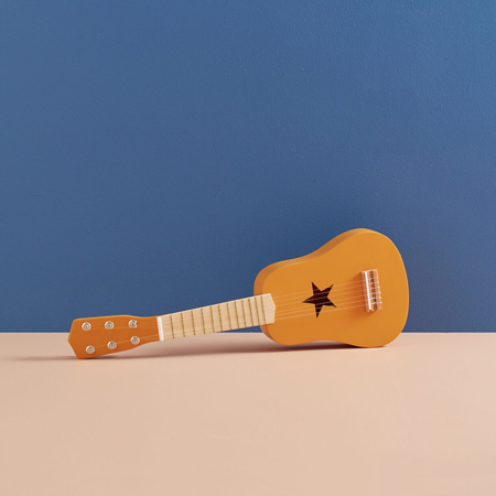 Kids Concept® Drvena gitara Yellow