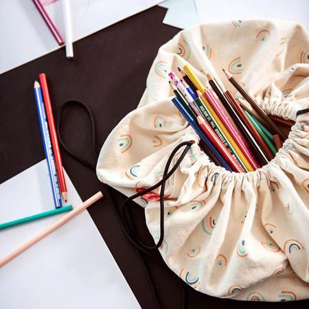 Slika za Play&Go® Mini vreča in podloga Mavrica