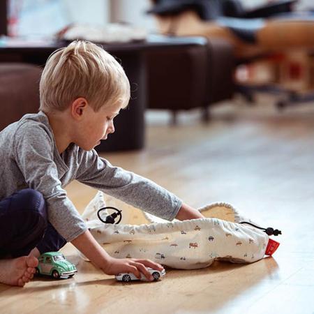 Slika za Play&Go® Mini vreča in podloga Avtomobilčki