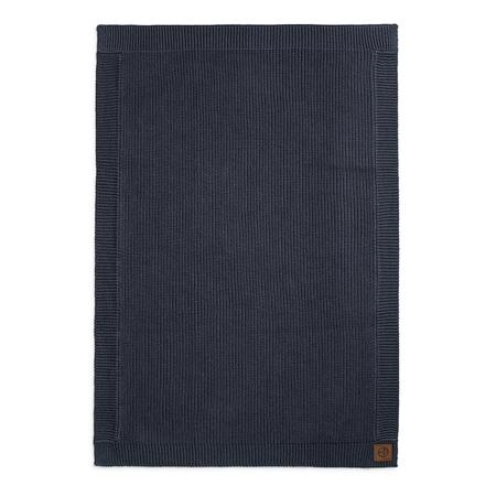 Elodie Details® Pletena dekica Juniper Blue 70x100
