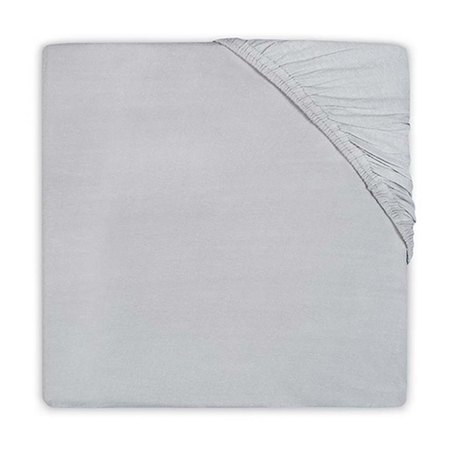 Slika za Jollein® Pamučna plahta Soft Grey 120x60