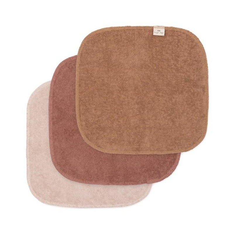 Slika za Konges Sløjd® Krpice za umivanje 3 komada Bloom
