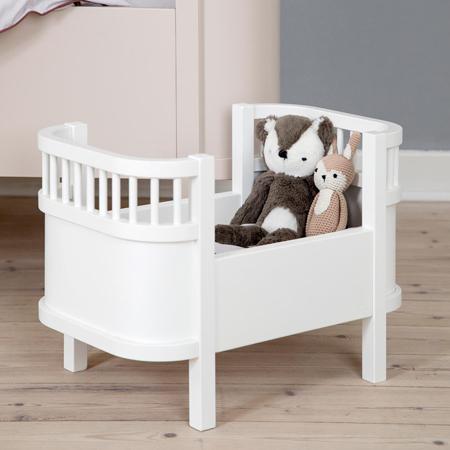 Sebra® Krevetić za lutke Classic White