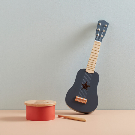 Kids Concept® Drvena gitara Grey