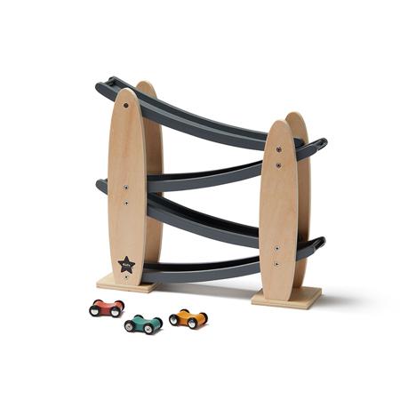 Slika za Kids Concept® Staza za automobile Natural/Grey Aiden