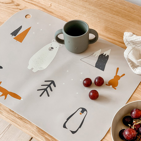 Slika za Liewood® Komplet 2 silikonske šalice za učenje pijenja Gene Rabbit Mustard