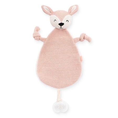 Jollein® Mazilica i držalo za dudicu Deer Pale Pink