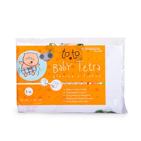 Tosama® Tetra ispisane pelene to.to 1 kom 80x80