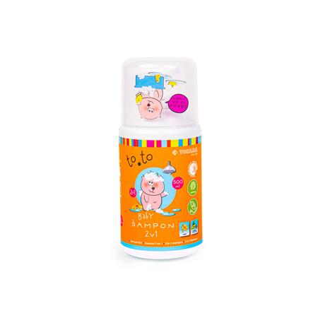 Slika za Tosama® Dječji šampon to.to 2v1 500 ml