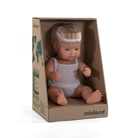 Miniland® Lutka European Boy 38cm