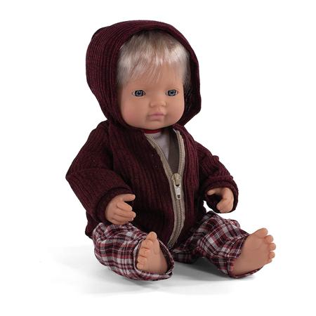 Slika za Miniland® Lutka European Boy 38cm