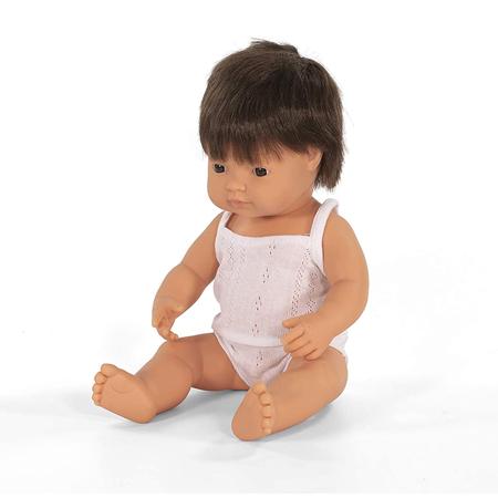 Slika za Miniland® Lutka Brown Hair Boy 38cm