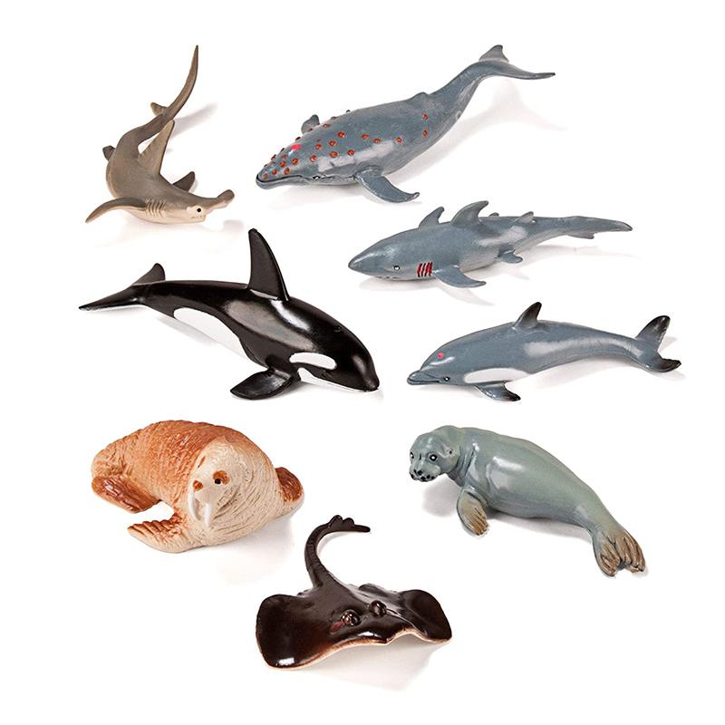 Slika za  Miniland® Životinjice Marine Animals 8 kosov