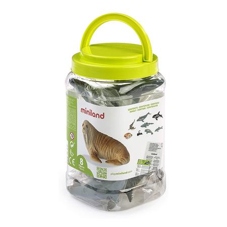 Miniland® Životinjice Marine Animals 8 kosov