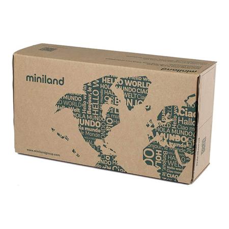 Slika za Miniland® Lutka s odjećom Mild Weather Hat Set Navy 32cm