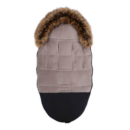 CottonMoose® Vreća za kolica Moose Yucon Black