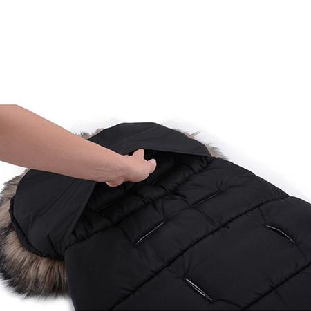 Slika za CottonMoose® Vreća za kolica Moose Yucon Black