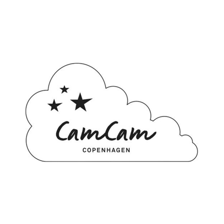 Slika za CamCam® Set 2 bombažni košev za shranjevanje Caramel Leaves