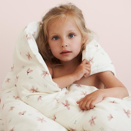 CamCam® Dječja posteljina Windflower Creme Junior 100x140, 45x40