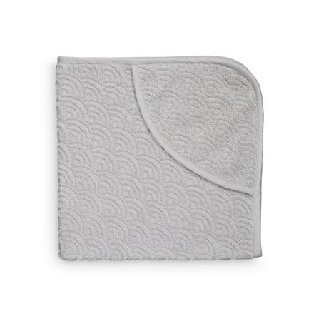 Slika za CamCam® Brisača s kapuco Grey 80x80