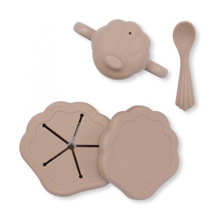 Slika za Konges Sløjd® Silikonski set za hranjenje Blush
