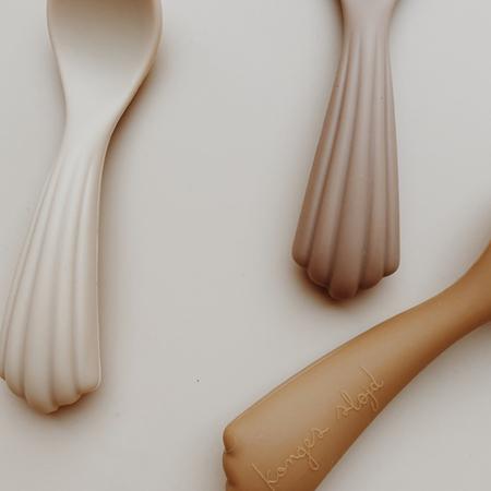 Slika za  Konges Sløjd® Set 3 silikonske žlice Shell
