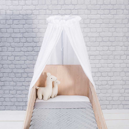 Jollein® Okrugli stalak za baldahin za krevetić Black