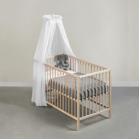 Slika za Jollein® Okrugli stalak za baldahin za krevetić Black