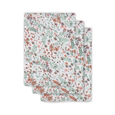 Slika za Jollein® Komplet 3 krpice za umivanje Bloom 20x15