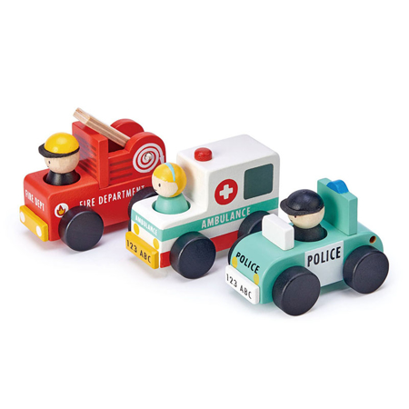 Slika za  Tender Leaf Toys® Emergency Vehicles