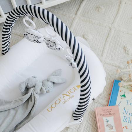 Slika za DockAtot® Višenamjensko gnijezdo Deluxe+ Pristine White (0-8m)