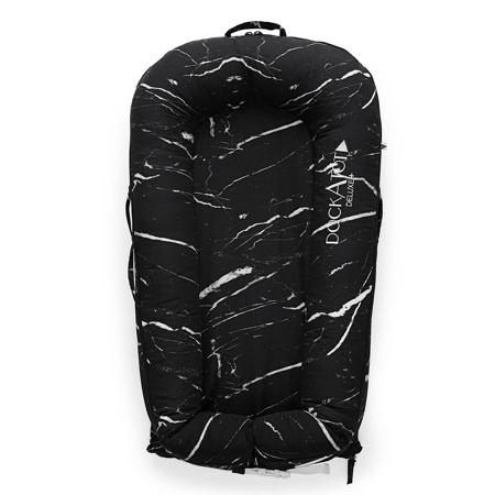 Slika za DockAtot® Višenamjensko gnijezdo Deluxe+ Black Marble (0-8m)