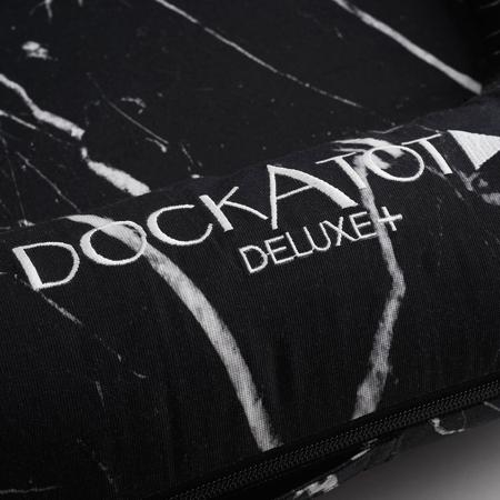 DockAtot® Višenamjensko gnijezdo Deluxe+ Black Marble (0-8m)