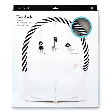 Slika za DockAtot® Luk za gnijezdo Deluxe+ Black&White