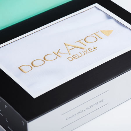 Slika za DockAtot® Pamučna navlaka za gnijezdo Deluxe+ Pristine White (0-8 m)