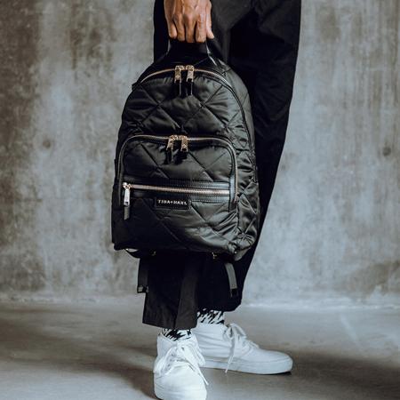 Slika za Tiba+Marl® Ruksak za previjanje  Elwood Nylon Quilt Black