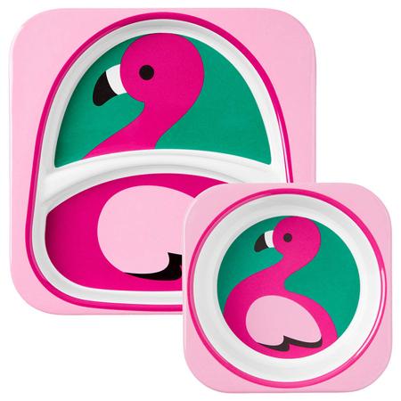 Slika za Skip Hop® Set za jelo Flamingo