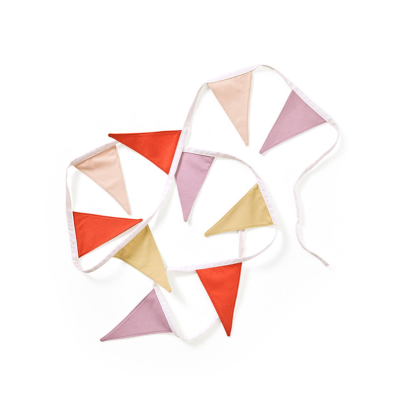 Slika za Kids Concept® Dekoracijske zastavice Bunting Purple/Red