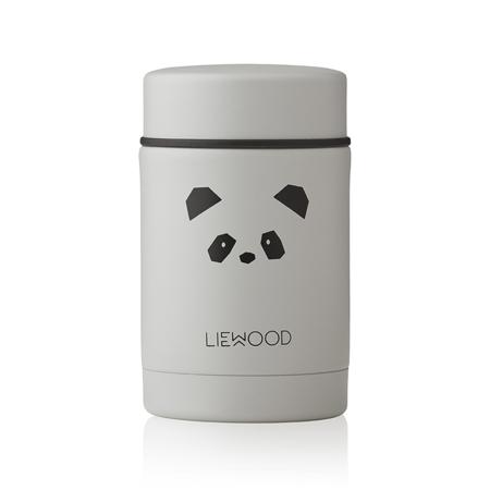 Slika za Liewood® Termo posuda Nadja Panda Light Grey 250ml