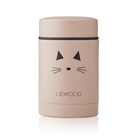 Slika za  Liewood® Termo posuda Nadja Cat Rose 250ml