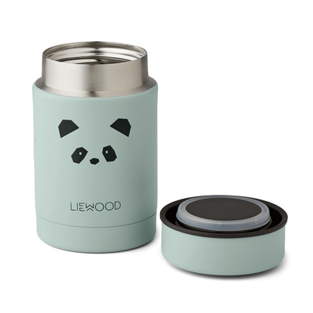 Liewood® Termo posuda Nadja Panda Peppermint 250ml