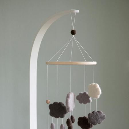 Sebra® Drveni stalak za vrtuljak Classic White