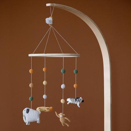 Sebra® Vrtuljak za krevetić Wildlife
