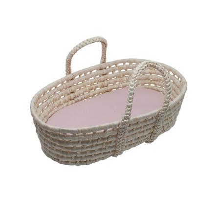 Slika za Sebra® Moses košara za lutku Sunset Pink