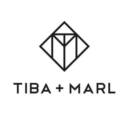 Slika za Tiba+Marl® Ruksak za previjanje Elwood Faux Black/Gold
